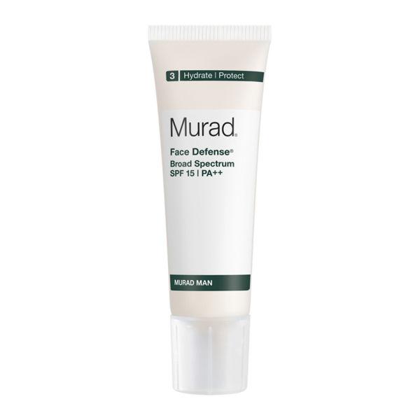 Crema hidratante Murad Man Face Defense SPF 15 (50ml)