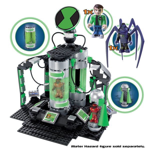 Character Building Ben 10 Azmuths Laboratory Construction