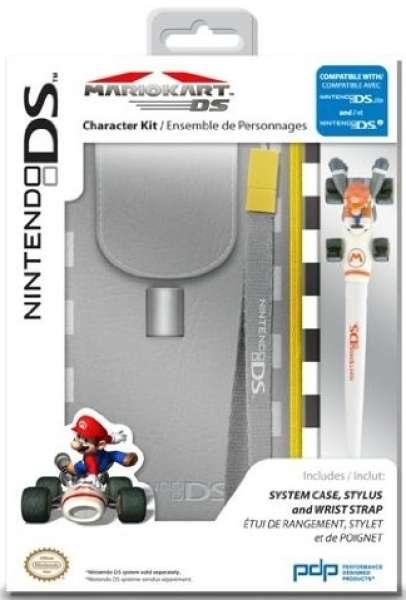 nintendo licensed super mario character kit mario kart 3ds dsi ds lite games accessories. Black Bedroom Furniture Sets. Home Design Ideas