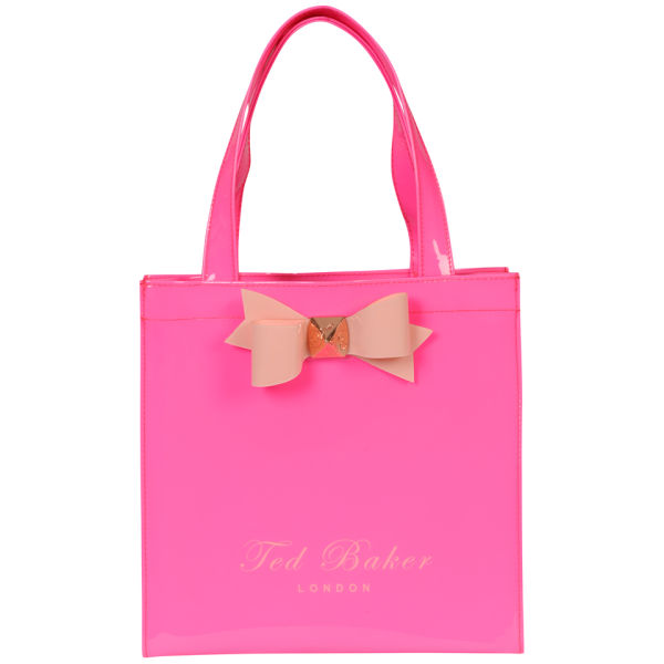 15c09aebf75e1 Home » Ted Baker Lilcon Small Bow Shopper Icon Bag -