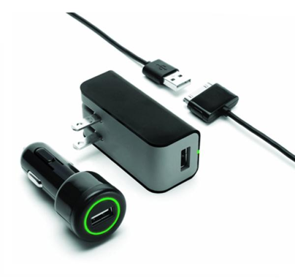 Griffin PowerDuo Wall & Car Charger For IPod, IPhone