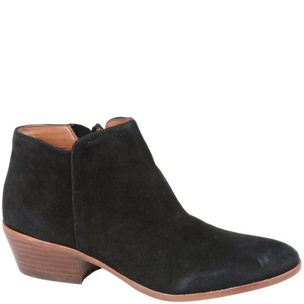 Black Suede Ankle Boots For Women