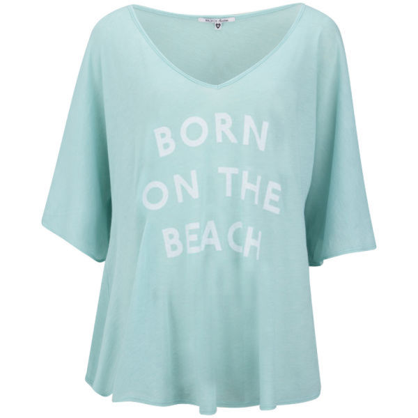 Wildfox Women's Born on the Beach Tunic - Aqua Sky