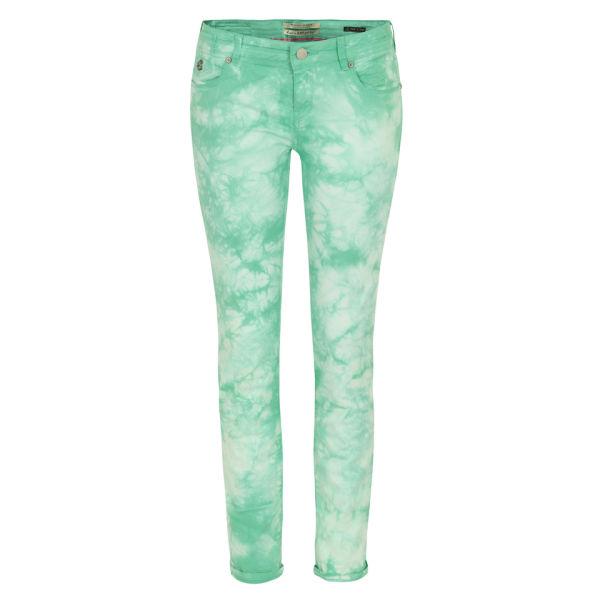 Maison Scotch Women's 85713 La Parisienne Skinny Jeans - Mint Dream