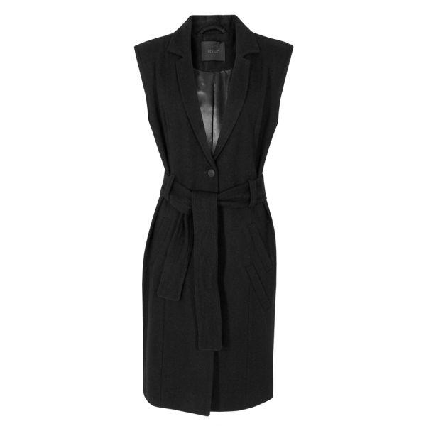 Gestuz Women's Dard Waistcoat - Black