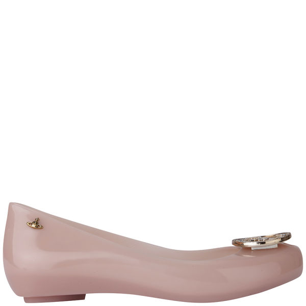 Vivienne Westwood for Melissa Women's Ultragirl 11 Ballet Flats - Candy Rose Orb Coin