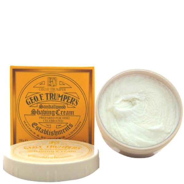 Trumpers Shave Cream - Sandalwood 200gm Tub
