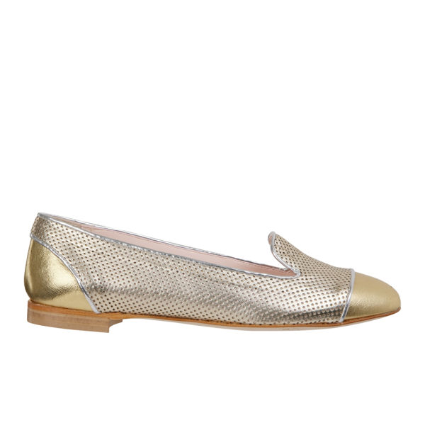 Just Ballerinas Women's Metallic Slipper Shoes  - Metallic