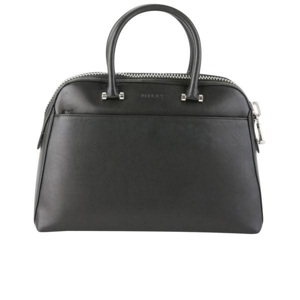 MILLY Blake Medium Kettle Leather Tote Bag - Black