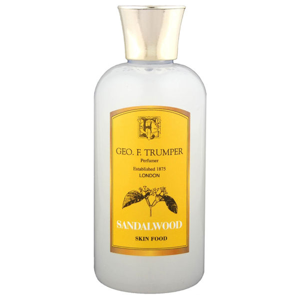 Trumpers Sandalwood Skin Food - 100 ml Travel