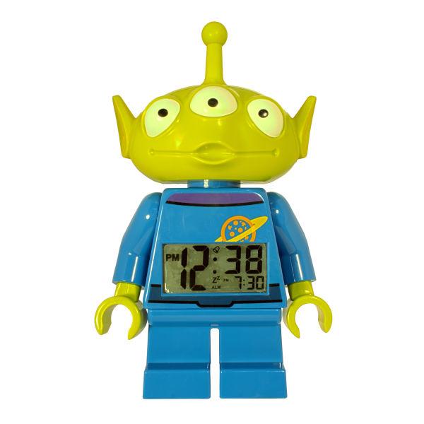 Lego Toy Story : Lego toy story alien mini figure clock iwoot