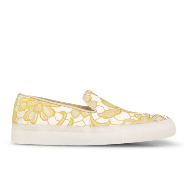 H Shoes by Hudson Women's Annuk Slip On Pumps - Yellow