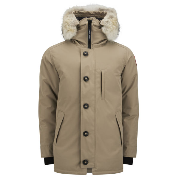 Canada Goose down outlet authentic - Canada Goose Men's Chateau Parka - Tan - Free UK Delivery over ��50