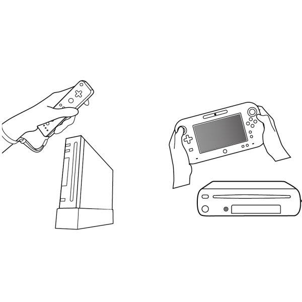 Nintendo Wii U Wireless Sensor Bar Wii U Accessories