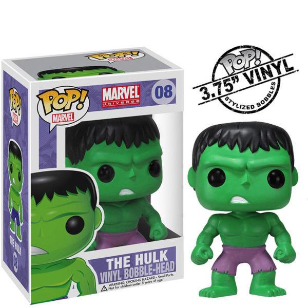 Marvel Hulk Pop Vinyl Figure Merchandise Zavvi Com