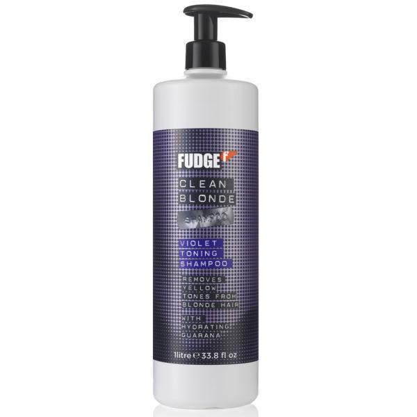 Fudge Clean Blonde Violet Shampoo (1000ml)