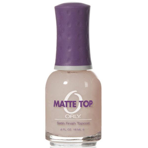 Matte Top Coat: ORLY Matte Top Coat (18ml