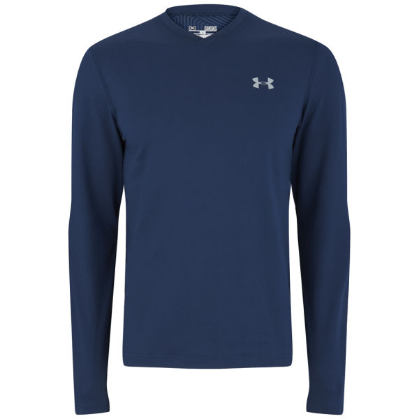 Under armour men 39 s coldgear infrared long sleeve top for Academy under armour shirts