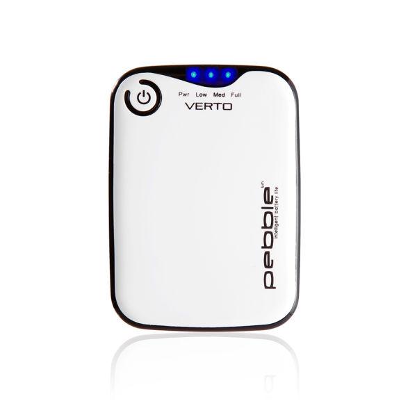 Veho Pebble Verto Portable Battery Back Up Power, 3700mah - White