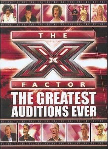 X Factor - The Greatest Auditions Ever DVD | Zavvi.com