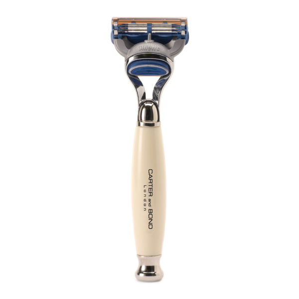 Carter and Bond Classic Faux Ivory Fusion Razor