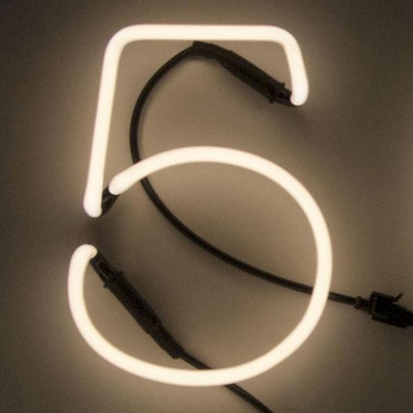 Seletti Neon Font Shaped Wall Light - 5