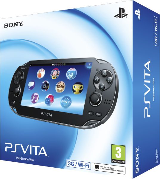 PS Vita (3G and Wi-Fi Enabled): Image 01