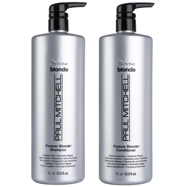 Paul Mitchell Forever Blonde Litre Duo (Shampoo and Conditioner)