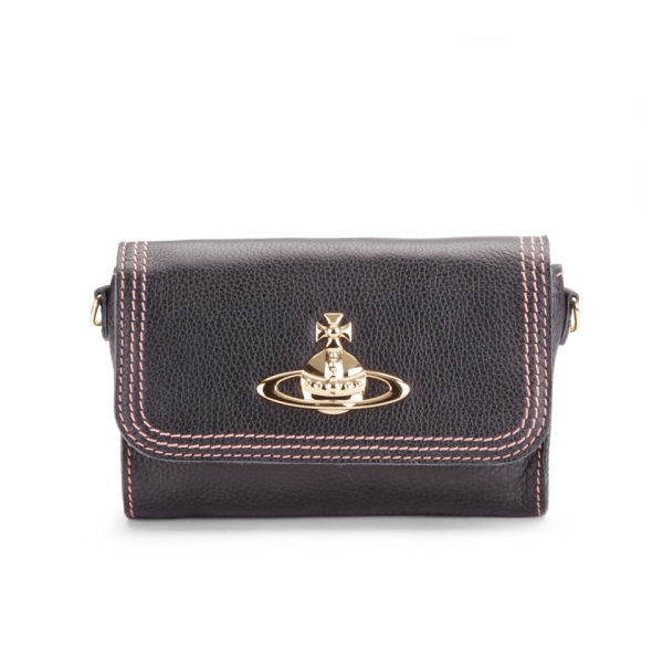 Vivienne Westwood Women's Dolce Leather Cross Body Bag - Brown