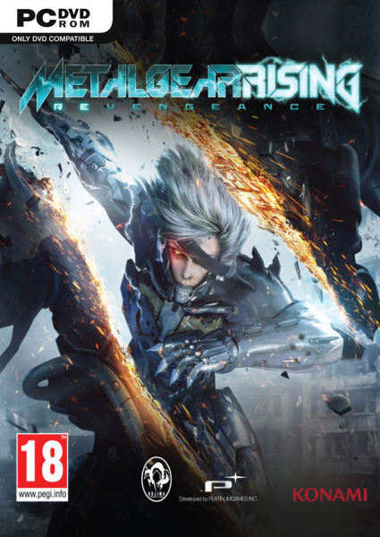 Metal Gear Rising: Revengeance Jogos Torrent Download capa