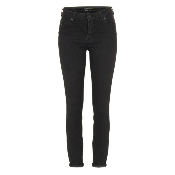 Maison Scotch Women's 85727 Haught Skinny Jeans - Black Beauty