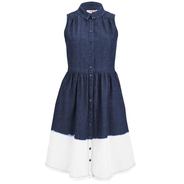 YMC Women's Dip Dye Denim Dress - Indigo