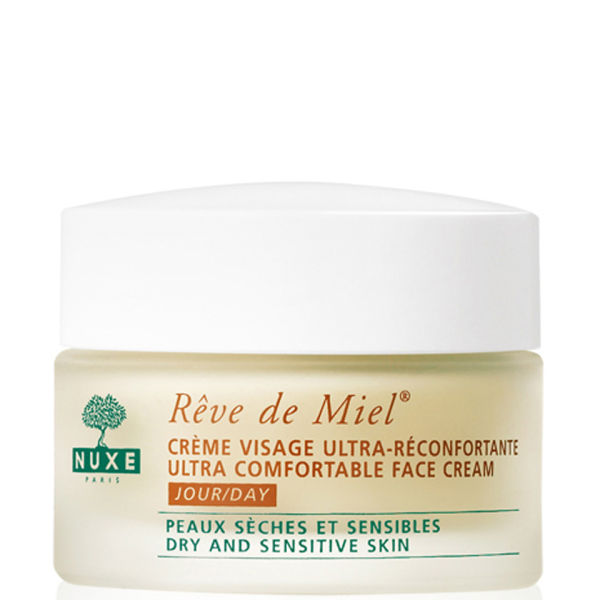 NUXE Reve De Miel - Ultra Comfortable Face Cream For Dry and Sensitive Skin (50ml)