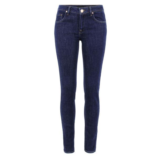 Victoria Beckham Women's VB1 Rinse Super Skinny Jeans - Blue