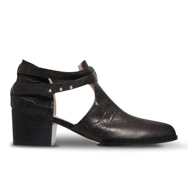 Senso Women's Qimat Ankle Boots - Black Croc