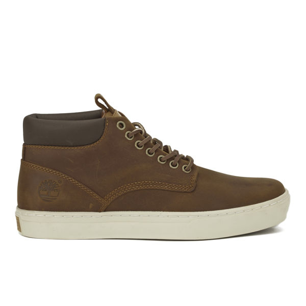 Timberland Men's Earthkeepers Adventure Cupsole Chukka Boots - Red Brown Oiled