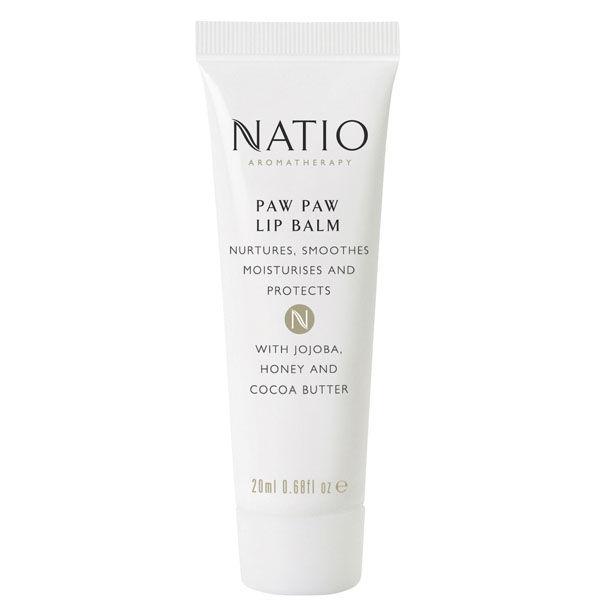 Natio Paw Paw Lip Balm (20 ml)