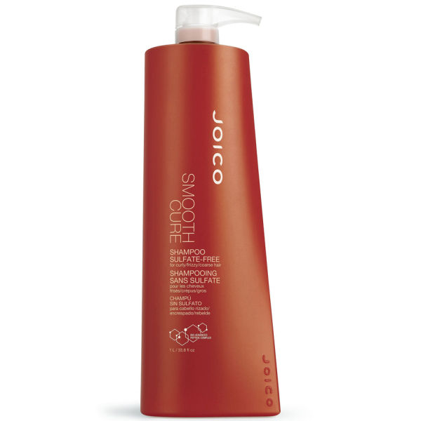 Joico Smooth Cure Shampoo -  Sulfate Free (1000ml) - (Worth £43.00)