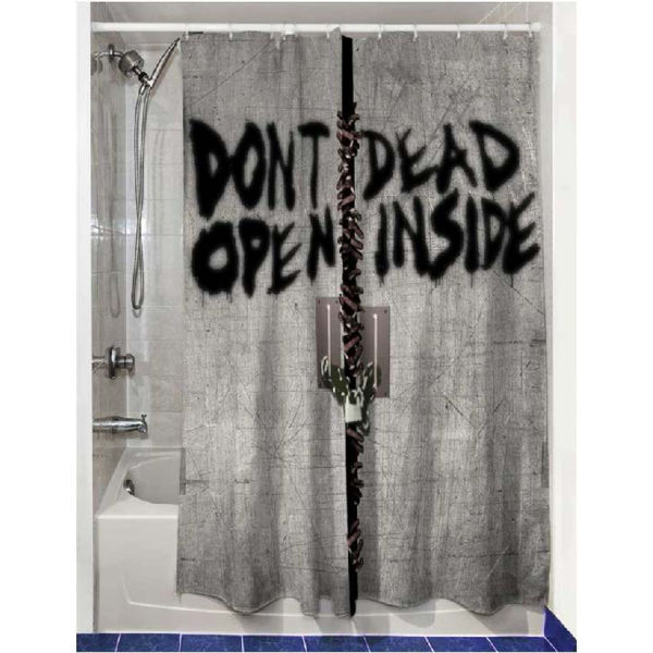 ... to previous page | Home » The Walking Dead Dead Inside Shower Curtain