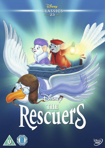 The Rescuers Dvd Zavvi Com