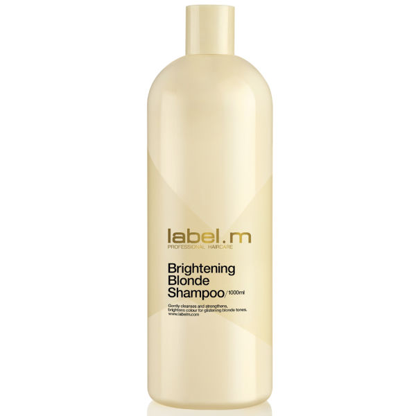 Champú iluminador cabello rubio label.m Brightening Blonde (1000ml)