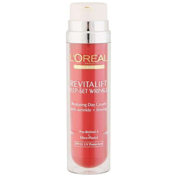 L'Oreal Paris Dermo Expertise Revitalift Deep Set Wrinkles Restoring Day Cream SPF15 (50ml)