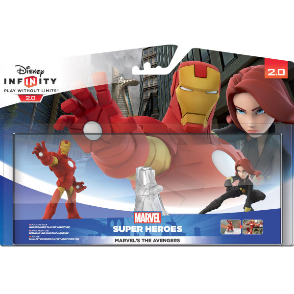 Disney Infinity: Marvel Super Heroes Play Set