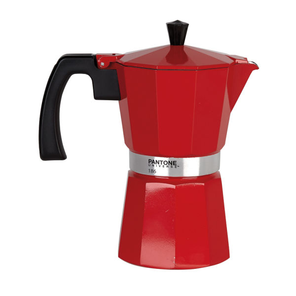 Pantone 6 Cup Coffee Percolator - Ketchup Red IWOOT