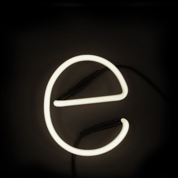 Seletti Neon Wall Light - Letter E IWOOT
