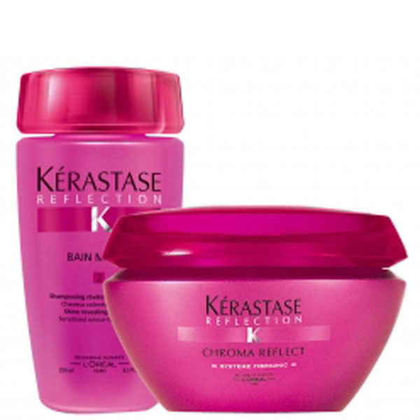 K rastase thick coloured hair duo 2 products bundle for Kerastase bain miroir