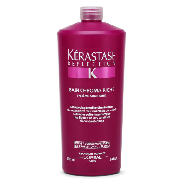 K rastase reflection bain chroma riche 1000ml health for Kerastase reflection bain miroir 1 shampoo