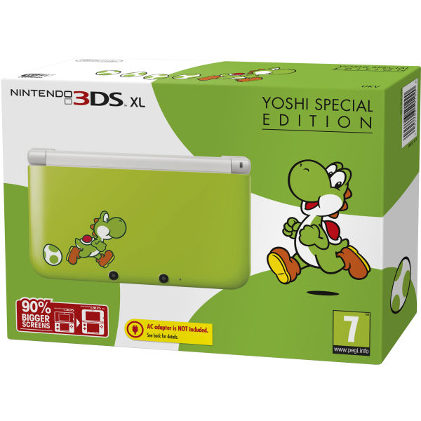 yoshi special edition bundle nintendo uk store. Black Bedroom Furniture Sets. Home Design Ideas