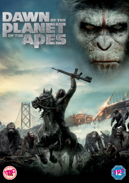 Dawn of the Planet of the Apes DVD | Zavvi.com