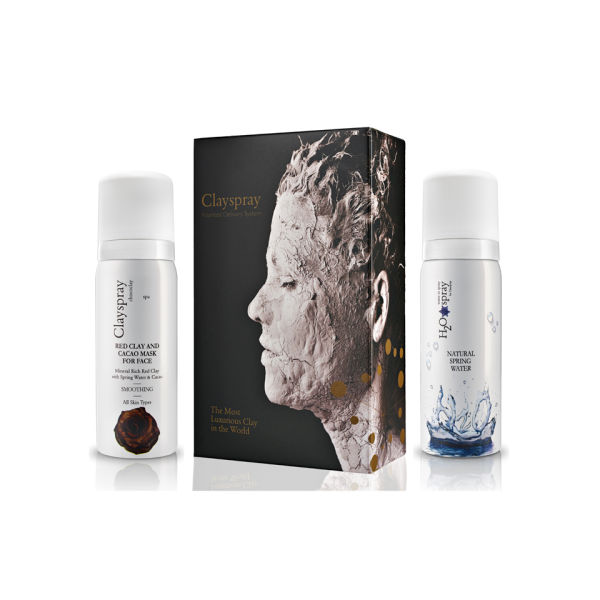 Clayspray Chococlay - Red Clay, Cacao and H2O Water Spray